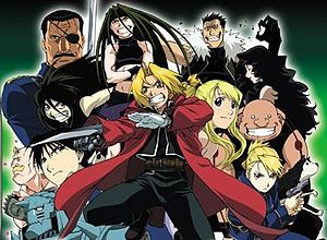 Several characters from Fullmetal Alchemist as...