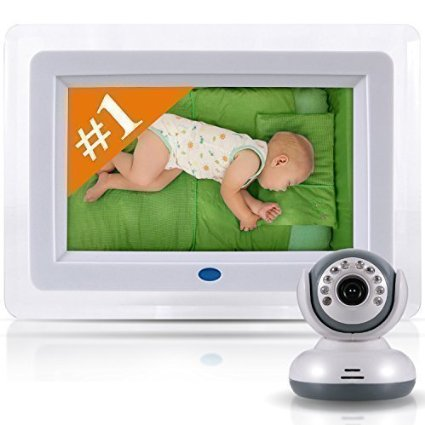 "Best Video Baby Monitor 7"" Color LCD Screen And High End Digital Camera"