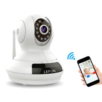 LeFun Wireless WiFi IP Surveillance Camera, Baby Monitor