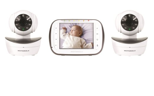 Motorola Digital Video Baby Monitor With 2 Cameras