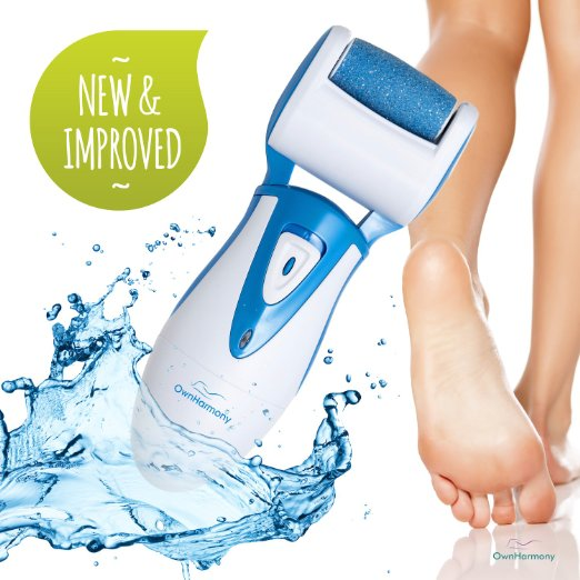 Rechargeable Electric Callus Remover And Shaver