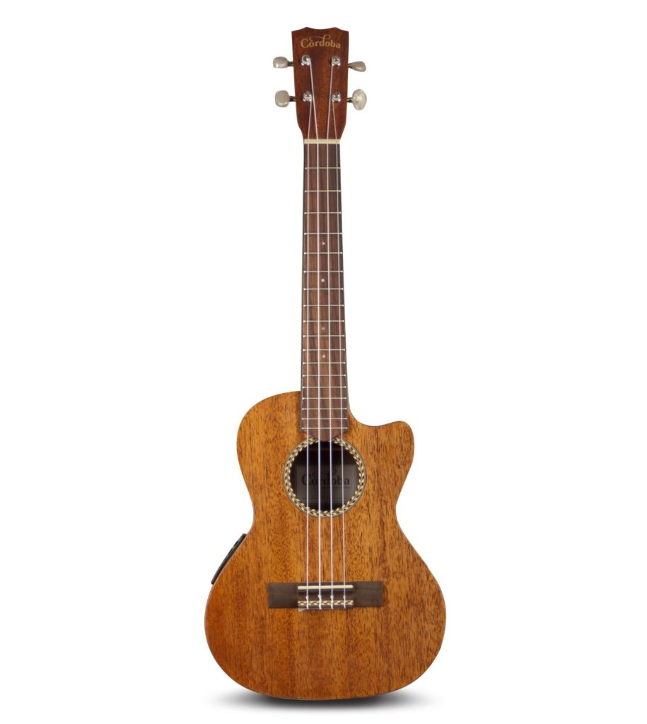 Cordoba 20TM-CE Acoustic Electric Tenor Ukulele with Gig Bag