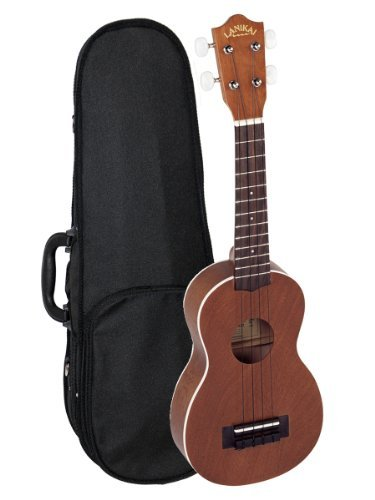 Lanikai LU-21 Soprano Ukulele Bundle With Polyfoam Case
