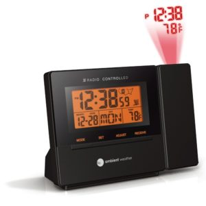 ambient-weather-rc-8427-radio-controlled-projection-alarm-clock-with-indoor-temperature