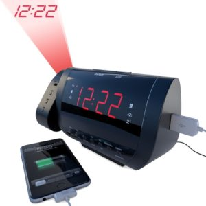 edge-pro-alarm-clock-radio-with-time-projection-and-usb-charger